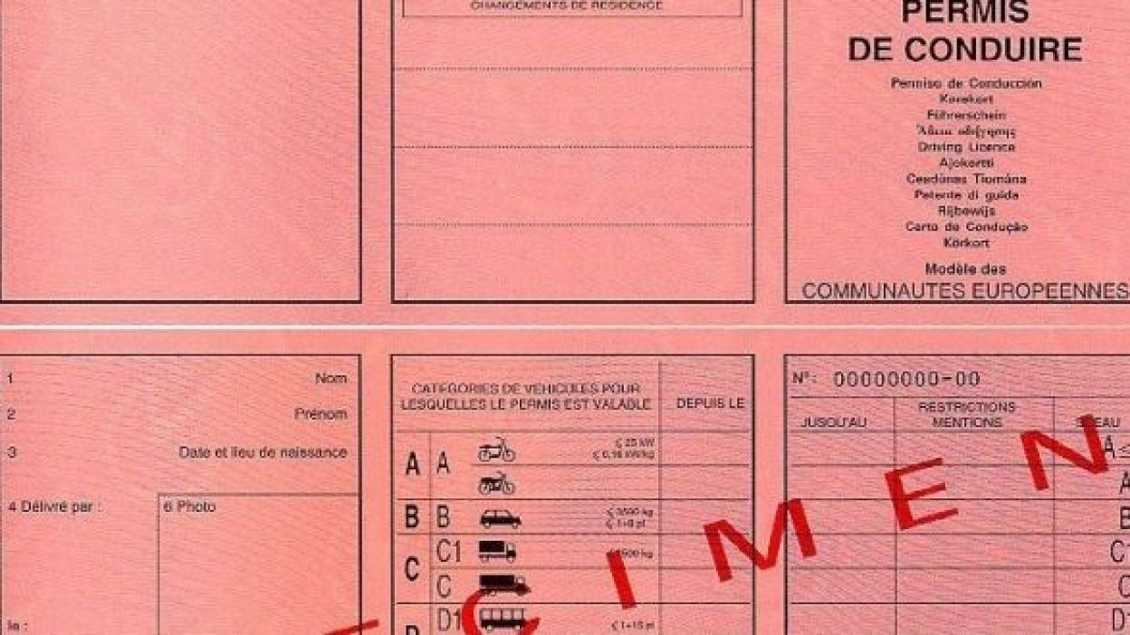 Permis de conduire Belgique